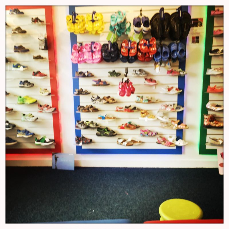 Buying Baby's First Shoes Kitty & B