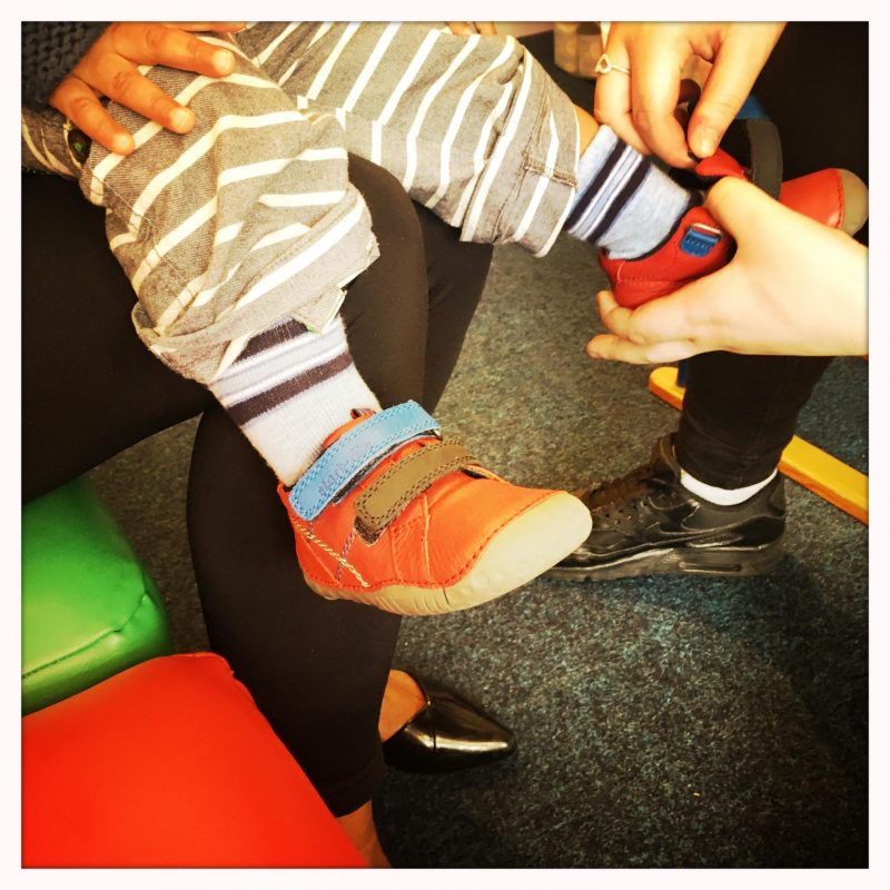 Buying Baby's first Shoes with Hopscotch Shoes and Startrite - Kitty and B
