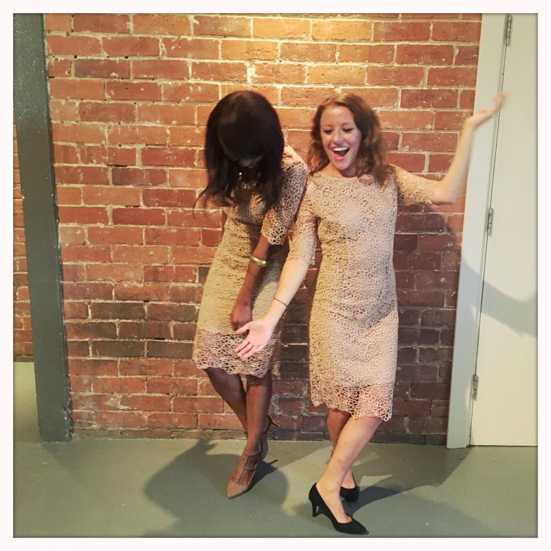 What happens at the La Redoute Summer Party - Kitty and B image