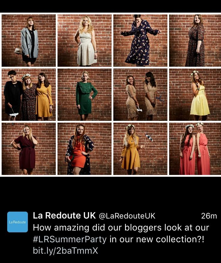 La Redoute Summer Party 2016 Kitty and B image
