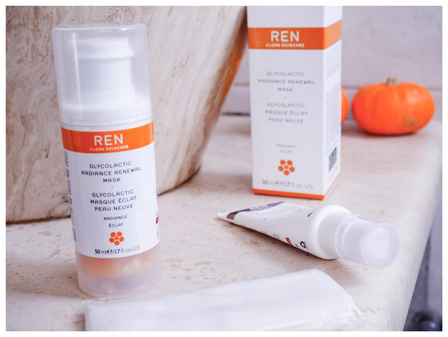 Ren Skincare Glyco Lactic Radiance Renewal Mask Review