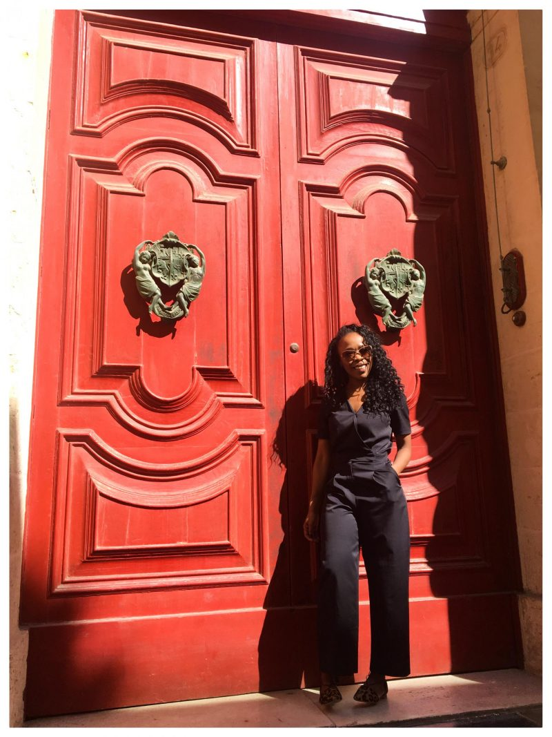 Navy is the new black in Mdina, Malta. How to wear Navy. Kitty and B. Jumpsuit £15.00 http://tidd.ly/dd68af48